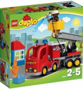 """Конструктор Lego Duplo """"Пожарный грузовик"""""""