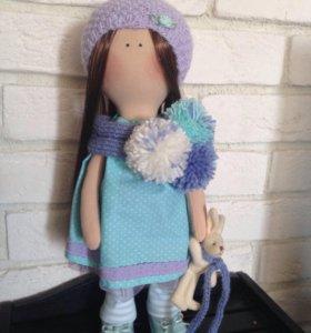 Интерьерная кукла (ручная работа) рост 40 см