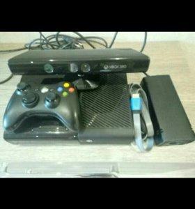 Xbox 360 + kinect + игры в подарок