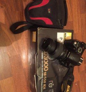 Фотоаппарат зеркальный Nikon D3000