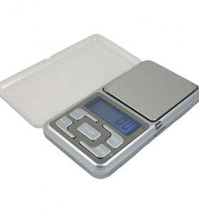 Весы электронные,ювелирные до 500g/ точность 0.1g