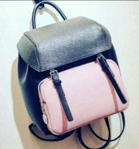 Новый яркий модный рюкзак розовый