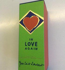 Туалетная вода Yves Saint Laurent In love again