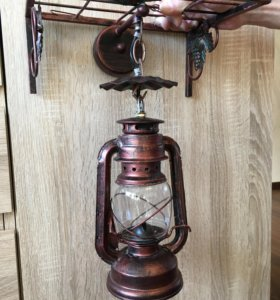 Светильник настенный дизайнерский медь