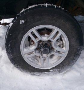 Колеса на УАЗ R16 на литье