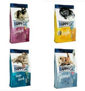 Happy Cat Хэппи Кэт корм для кошек и котят