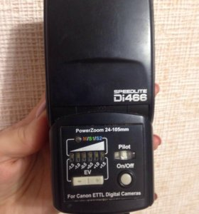 Вспышка для фотоаппарата SPEEDLITE Di466