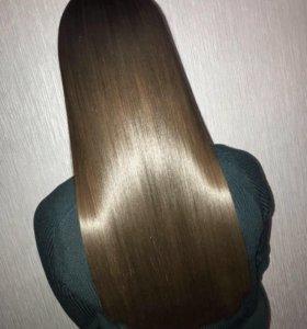 Глубокая полировка волос ножницами + уход маслами