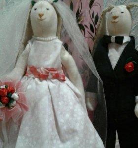 """Кролики """"Жених и Невеста"""""""