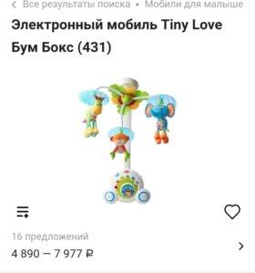 Мобиль tiny love boombox