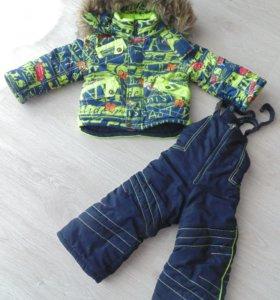 Куртка+комбинезон осень-зима
