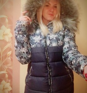 Костюм зимний женский куртка и штаны, тёплый