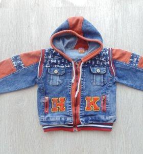 Джинсовая куртка на 2-3 года