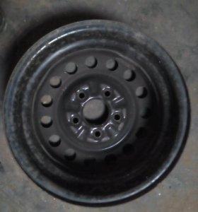 4 Штампованных диска R14 5*114,3 Honda Stream