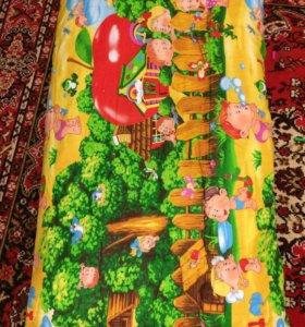 Матрас и одеяло из овечьей щерсти