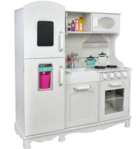 Кухня детская с холодильником