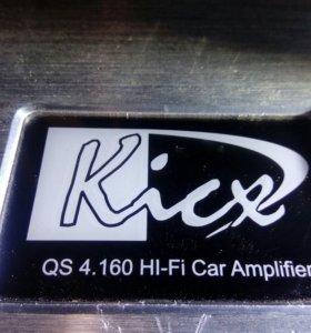 4-канальный усилитель Kicx QS 4.160