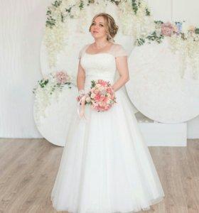 Свадебное платье Айвори 44-48 р-р