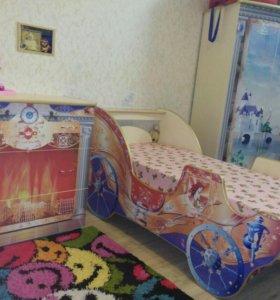 Детский спальный гарнитур ,,Принцесса,,