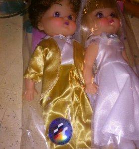 Куклы молодожены ( передам)