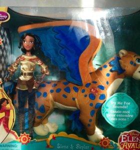 Кукла Елена с поющим Скайларом