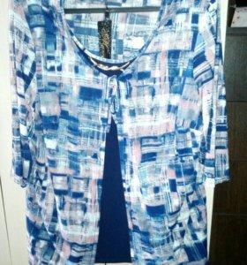 Новая блузка 58—60 р—р