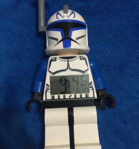 Часы настольные lego star wars