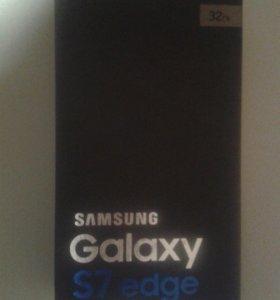 коробка samsunga Galaxy S7 edge
