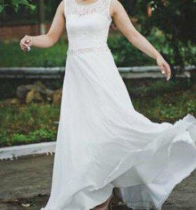 Вечернее ( свадебное) платье