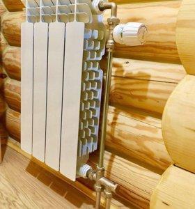 Замена радиаторов отопления