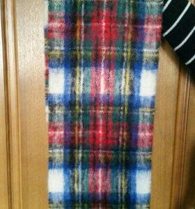 Новый мохеровый шарф
