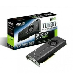 Geforce grx 1060 turbo 6gb (ASUS)