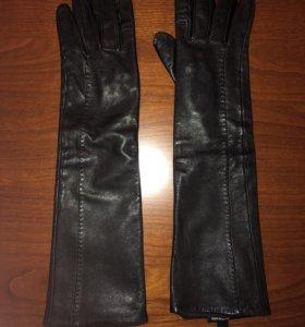 Перчатки кожаные Max&Co, торг