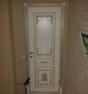 Установка Ремонт межкомнатных и входных дверей