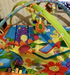 Коврик развивающий с игрушками Tiny Love