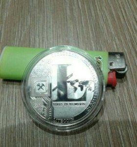 Подарочная монета литкоин