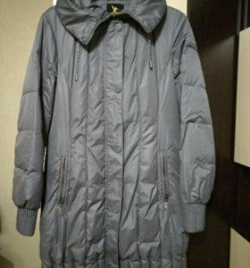 Плащ пальто демисезонное с капюшоном