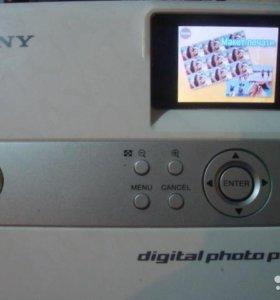 Мини фото принтер SONY