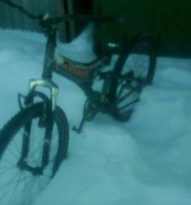 Велосипед на запчасти.