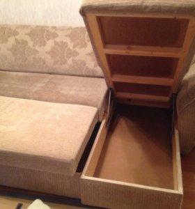 Диван-кровать.