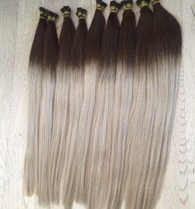 Натуральные волосы для наращивания 💜 55-80 см
