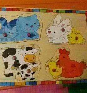 Доска для малышей
