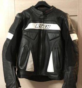 Мото куртка кожа Rush мужская