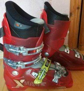 Мужские горнолыжные ботинки Salomon 26-26,5 разм.