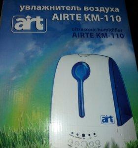 Ультразвуковой увлажнитель воздуха AiRTe KM-110