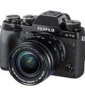 Фотоаппарат fuji X-T2 kit 18-55f2,8-4