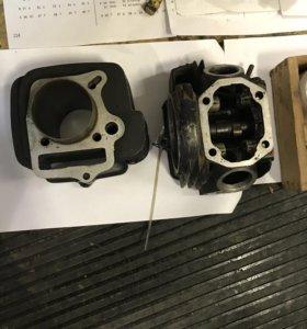 Цилиндр+головка irbis ttr 125 cc(154 fmi)