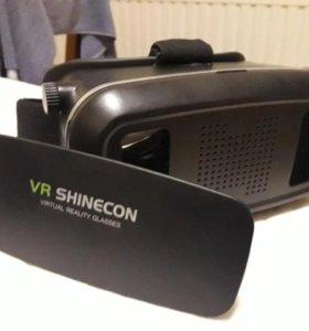 Очки виртуальной реальности с джостиком bluetooth