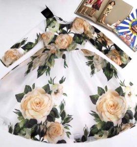 Нарядное платье на выпускной сад/ школу.