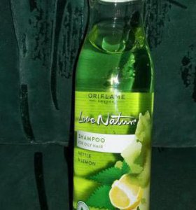 """Шампунь для жирных волос """"Крапива и лимон"""""""